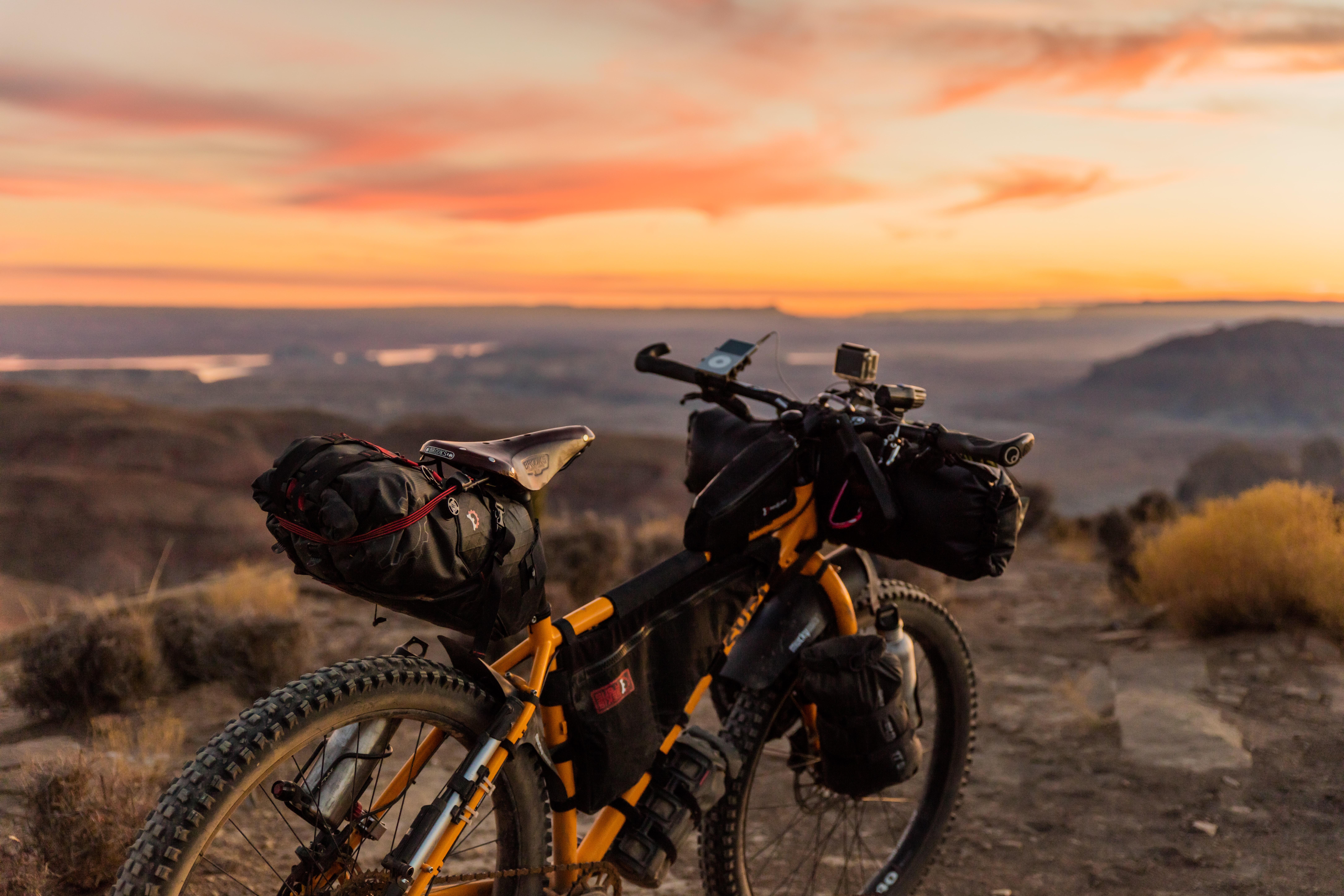 Advanatges of bikepacking vs bike touring