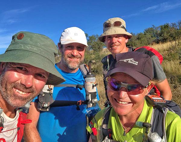 News Freedom Challenge runners selfie