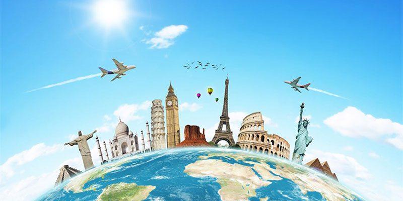 around world