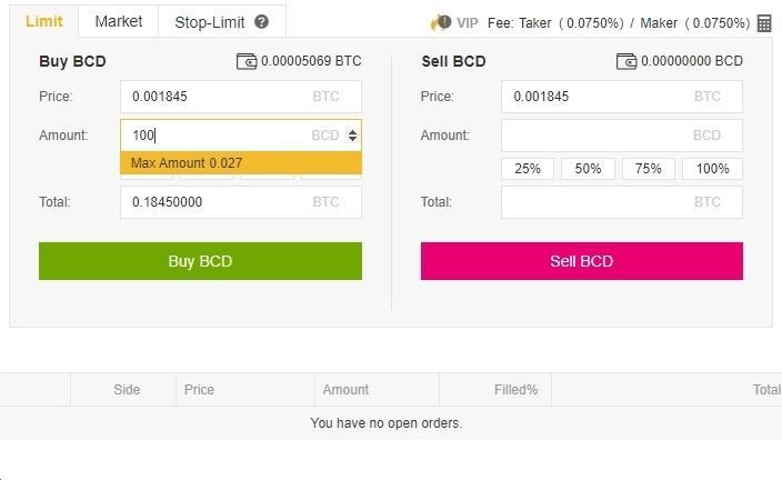 Bitcoin Diamond árfolyam