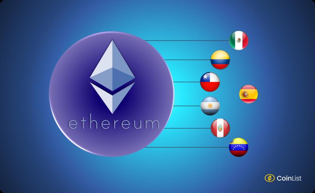 Comprar Ethereum en otros países