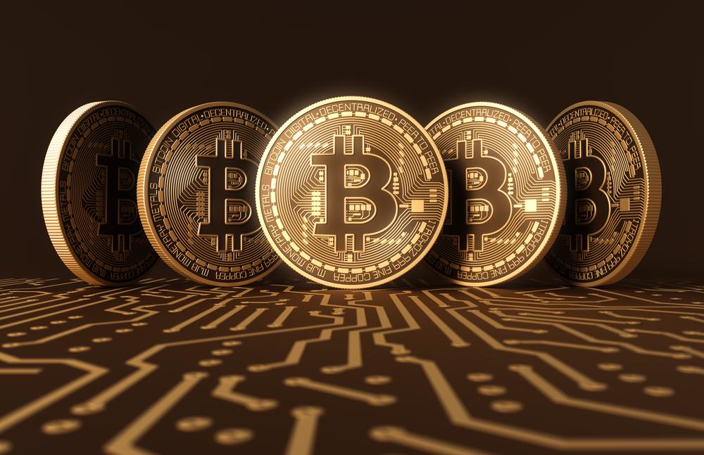 minatore bitcoin oro