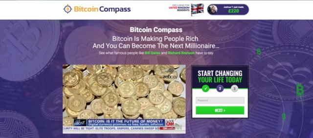 bitcoin compass registro