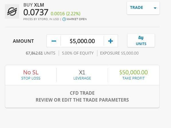 Stellar Lumens kaufen online