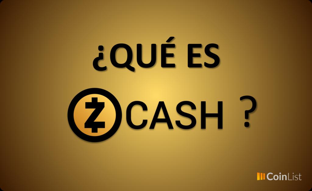 Qué es ZCash