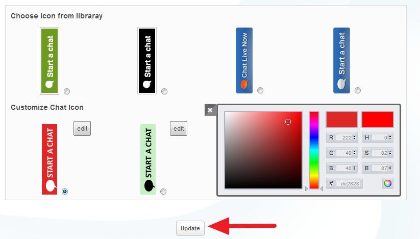 update button 2
