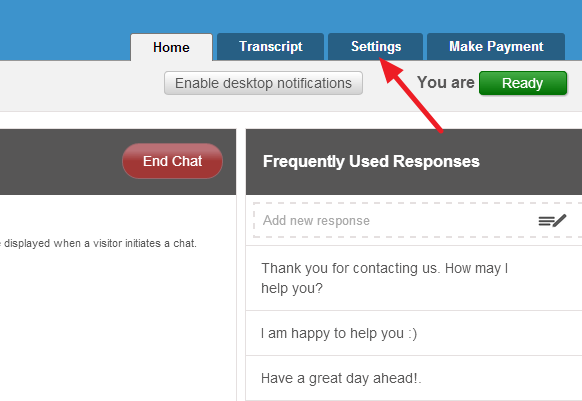conversionsupport settings