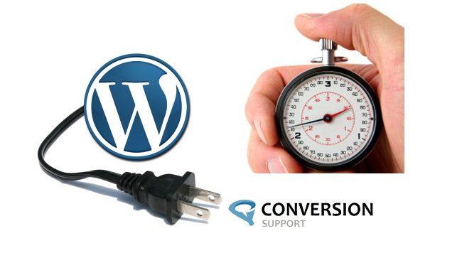 Conversion Support online chat page speed