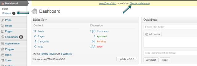 Dashboard - WordPress - Conversion Support online chat