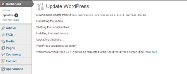 WordPress version update - Conversion Support WordPress plugin