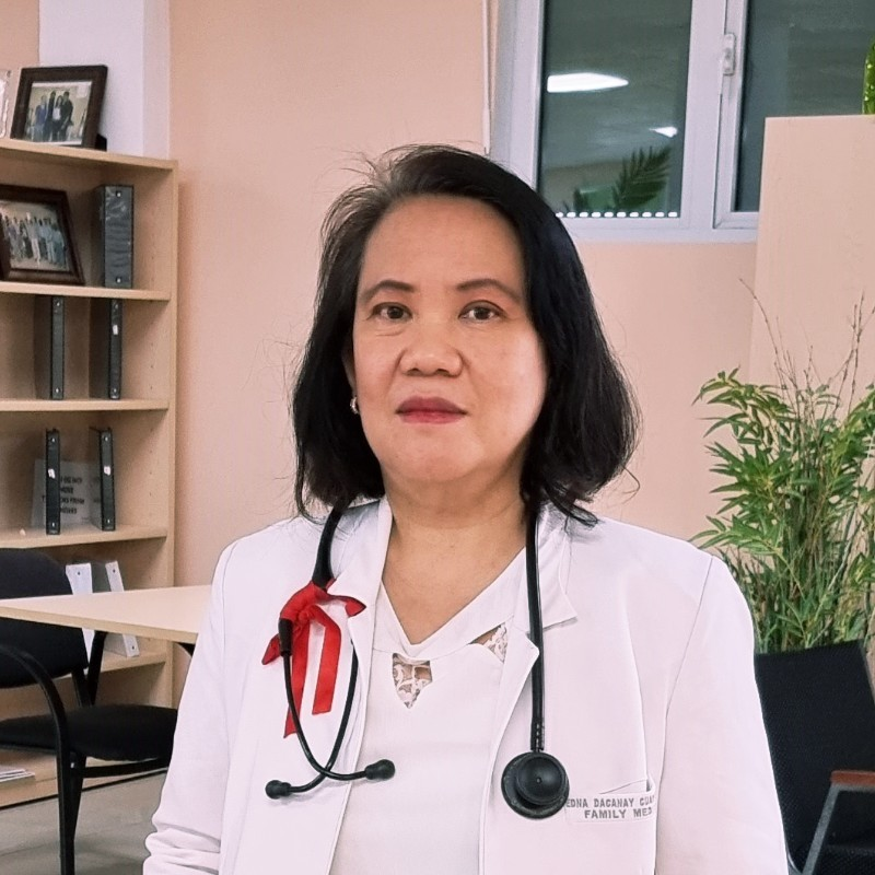 Edna Cuaresma, MD, LlB