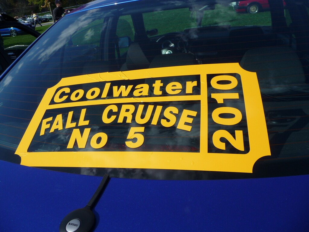 Coolwater Fall Cruise