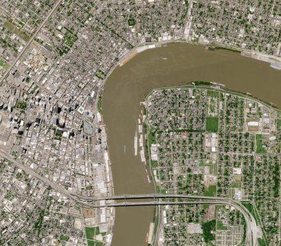 SkySat image of New Orleans, Louisiana