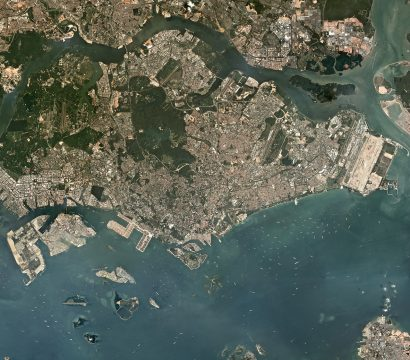 PlanetScope mosaic of Singapore © 2018, Planet Labs Inc. All Rights Reserved.