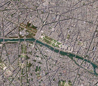 Planet SkySat image of Paris, France © 2017, Planet Labs Inc. All Rights Reserved.