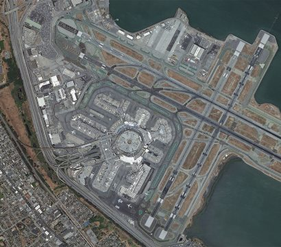 San Francisco International Airport © 2019, Planet Labs Inc. All Rights Reserved.