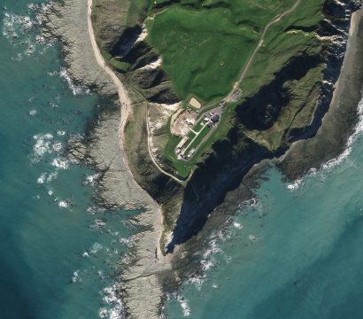Here is a SkySat image of the Rocket Lab Launch Complex 1 spaceport, which can be found on New Zealand's North Island at the southern tip of the Māhia Peninsula. The image was collected on June 6, 2020. © 2020, Planet Labs Inc. All Rights Reserved.