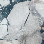 PlanetScope image of the Milne Ice Shelf in Arctic Canada © 2020, Planet Labs Inc. All Rights Reserved.