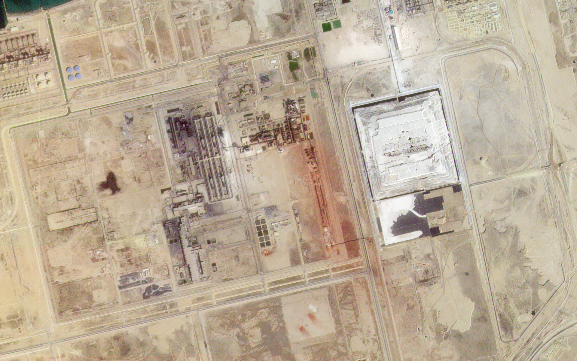 Ras Al Khair, Saudi Arabia collected on January 27, 2021. © 2021, Planet Labs Inc. All Rights Reserved.