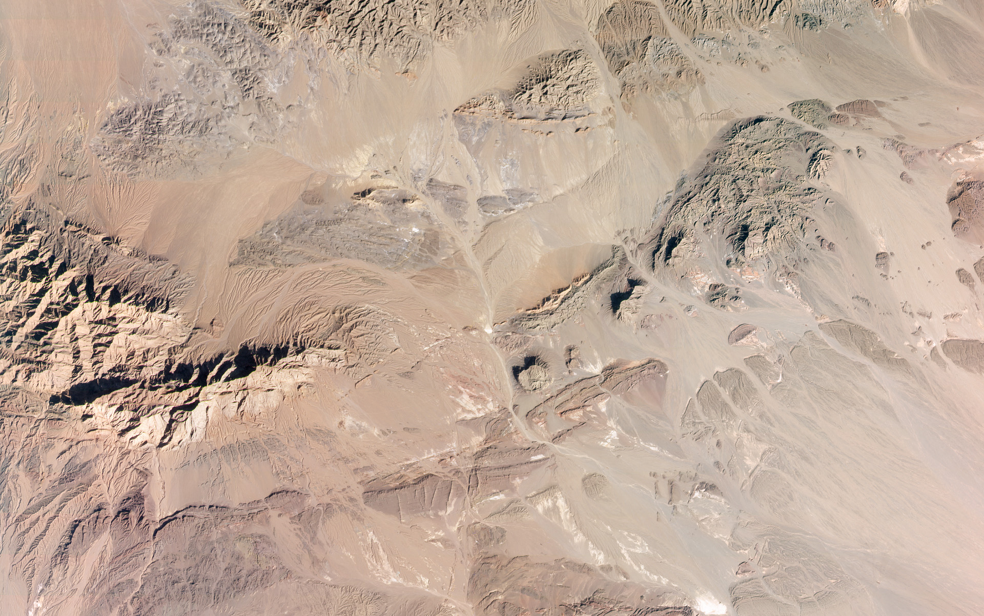 Desert landscape, Semnan, Iran. Collected January 29, 2021. © 2021, Planet Labs Inc. All Rights Reserved.
