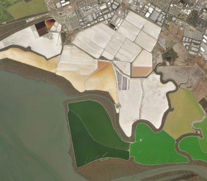 Salt ponds in San Francisco, California. © 2020, Planet Labs Inc. All Rights Reserved.
