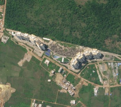 SkySat imagery of Tata Ariana Housing in Bhubaneswar, Odisha, India © 2020, Planet Labs Inc. All Rights Reserved.