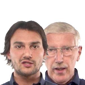 Tullio Miscoria e Vincenzo Patti