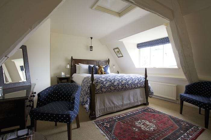 The Manor House Moreton in Marsh loft room