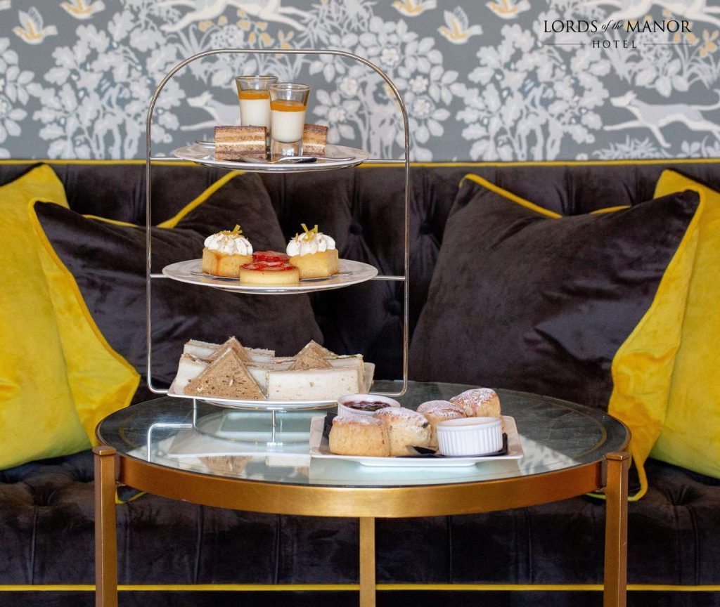 afternoon tea at lords of the manor