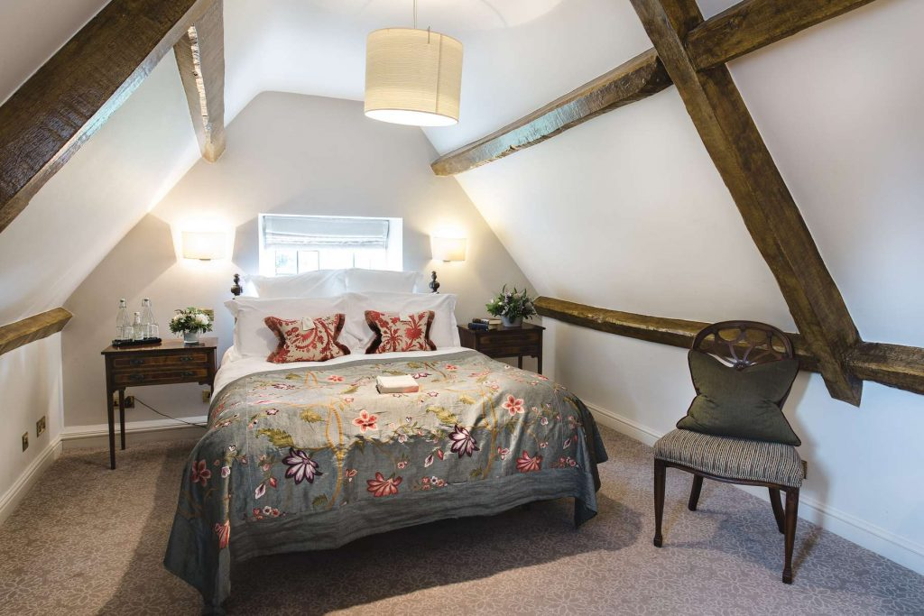 Brocklebank bedroom at lords of the manor