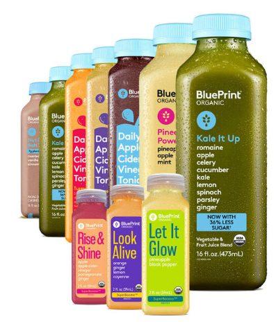 Blueprint cleanse juices