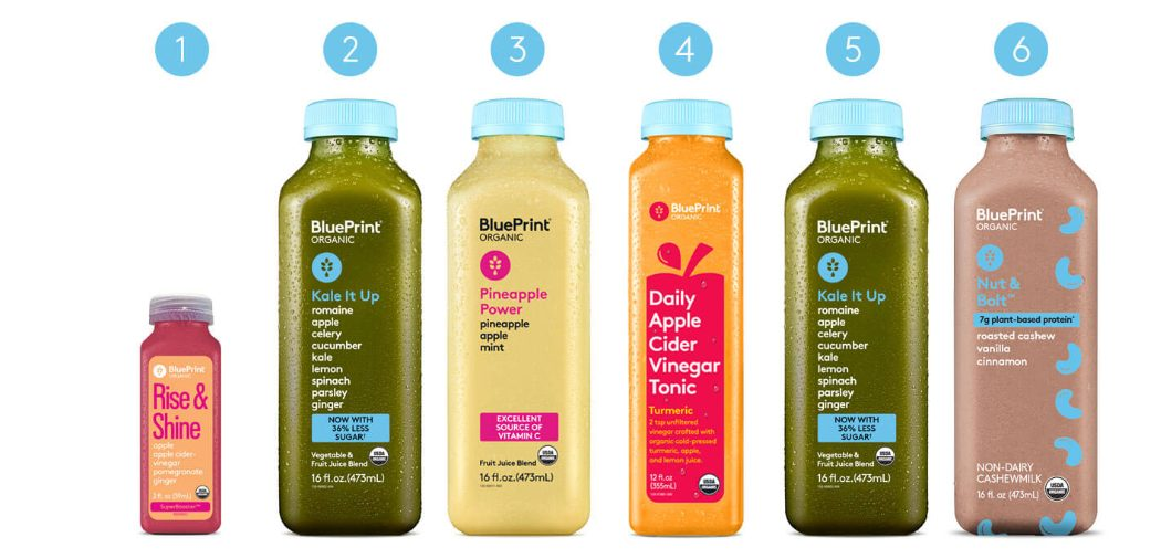 Can you freeze Blueprint cleanse juices?