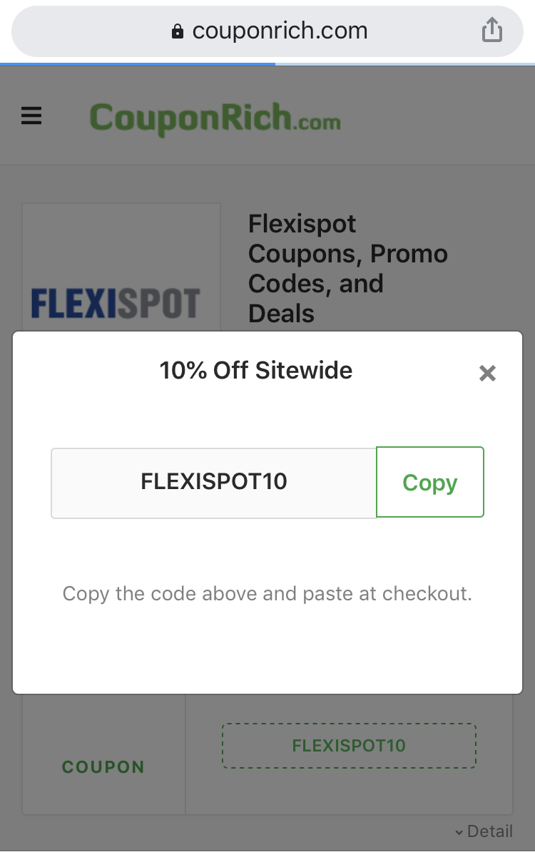 Get flexispot coupon code