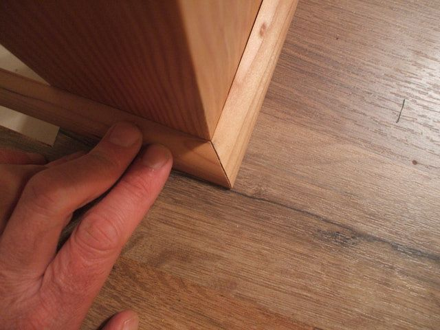 How To Cut Quarter Round Here S 8, How To Cut Quarter Round Corners With Miter Saw
