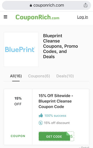 Blueprint cleanse coupon