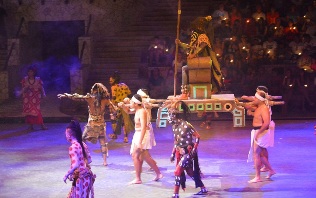 3 things to love about Xcaret at night