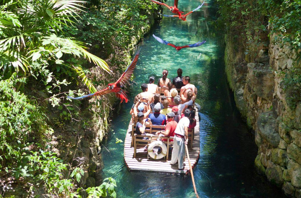 Xcaret Paradise River