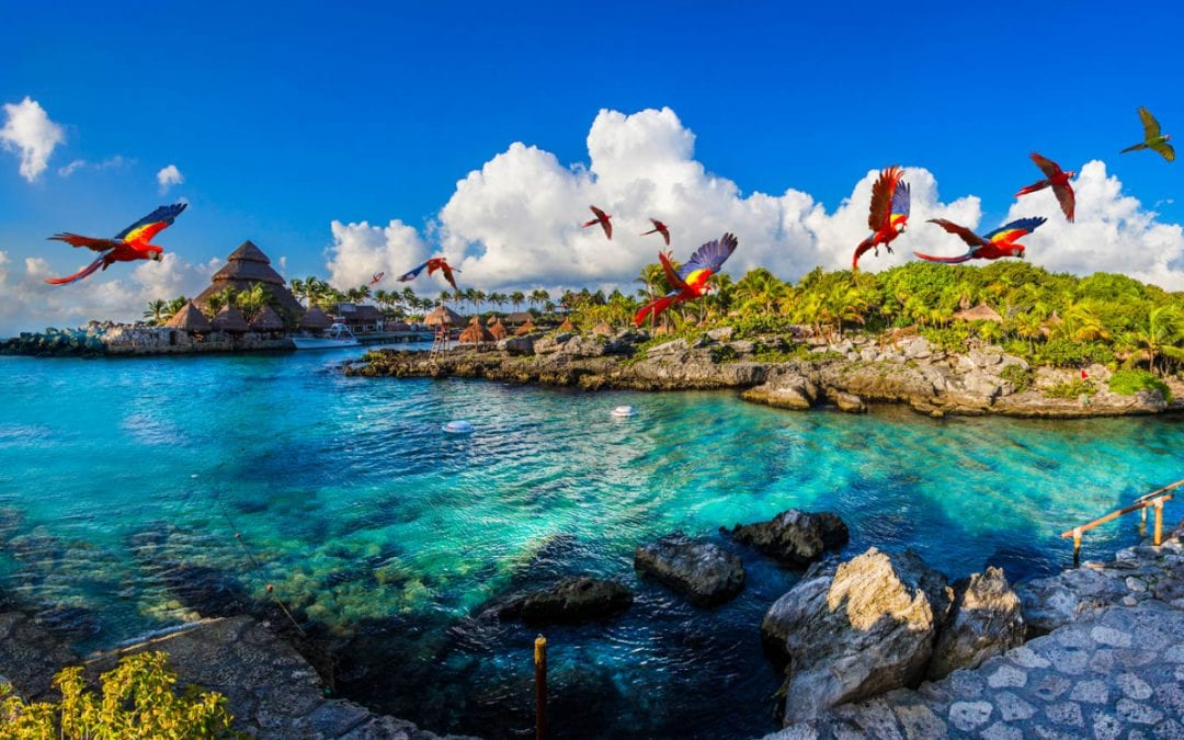 Xcaret park map: Top Xcaret itineraries for the best visits