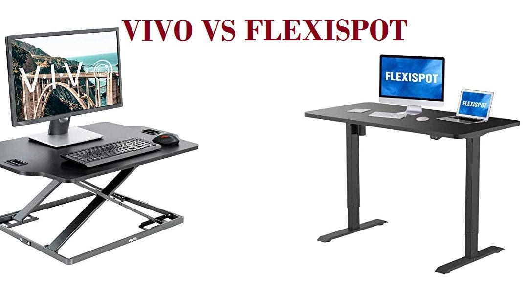 Side-by-side comparison of Vivo vs Flexispot