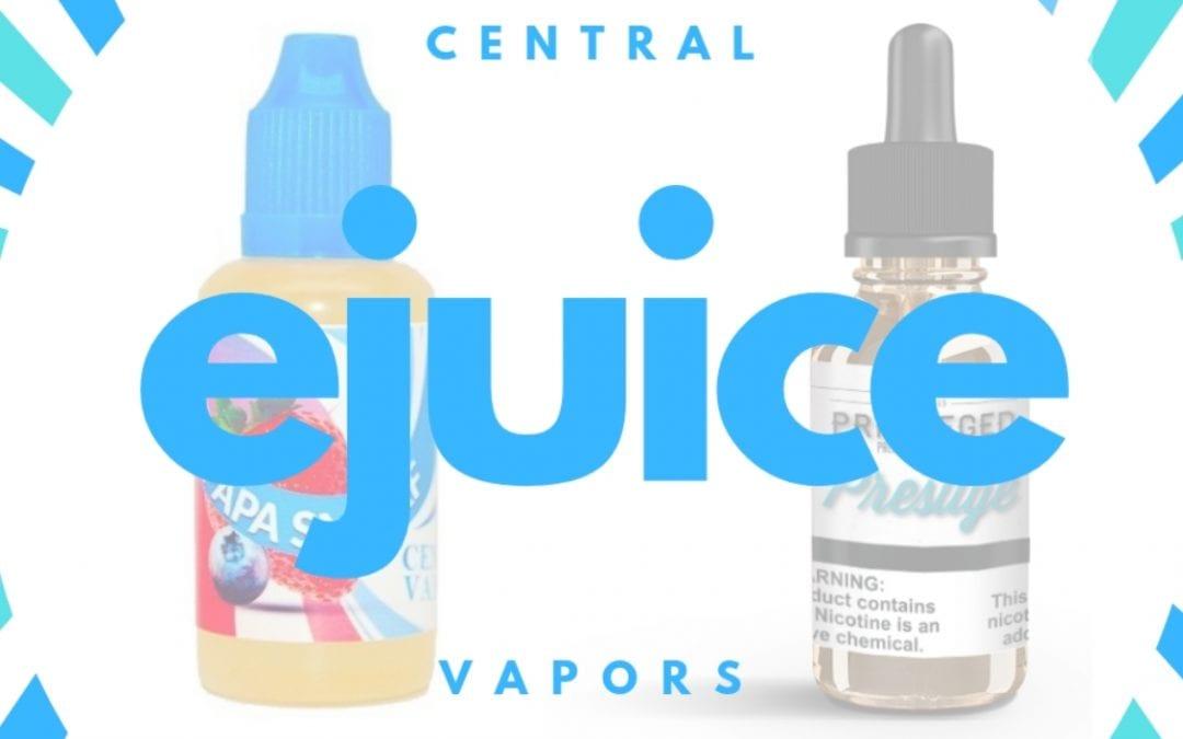 Central Vapors reviews: best-selling e juice flavors 2020