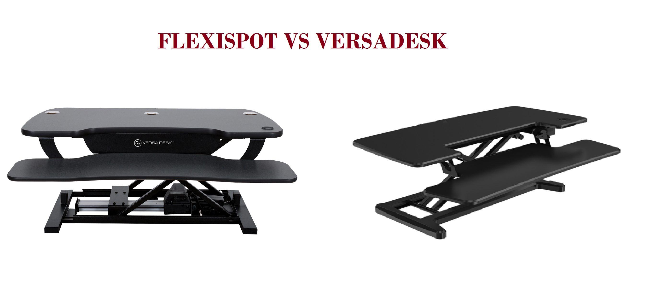 flexispot vs versadesk