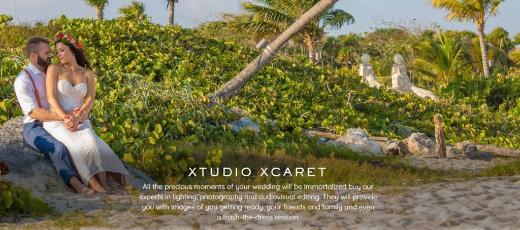 Cancun Xcaret wedding