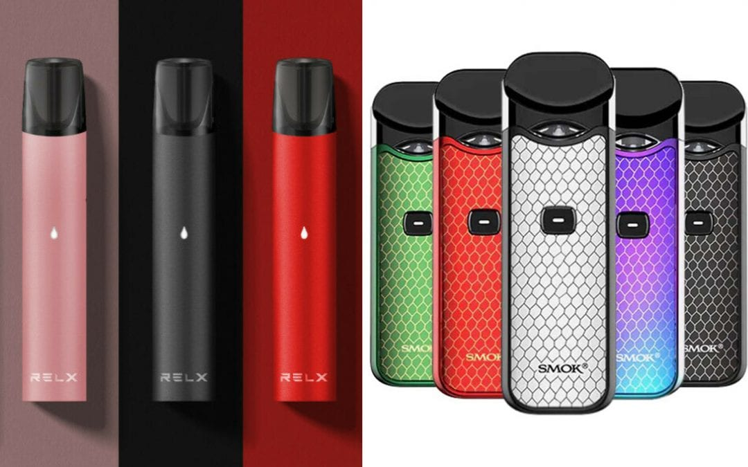 RELX vs SMOK – Which brand to choose?