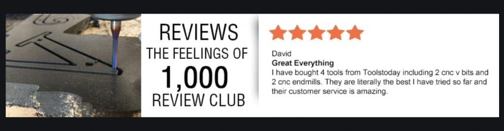 1000 reviews