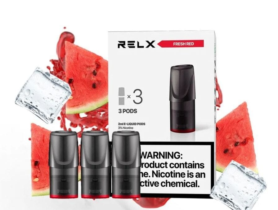 RELX watermelon (Fresh Red) – Flavor Review