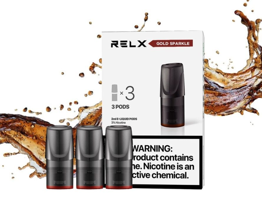 RELX Gold Sparkle – Flavor Review