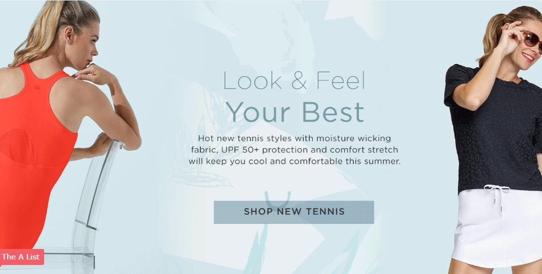 Must have Tail Activewear tennis for sporty women