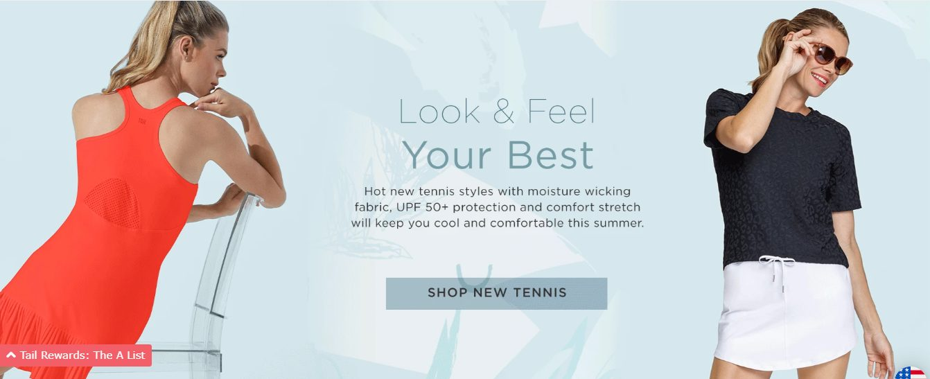 tail activewear tennis