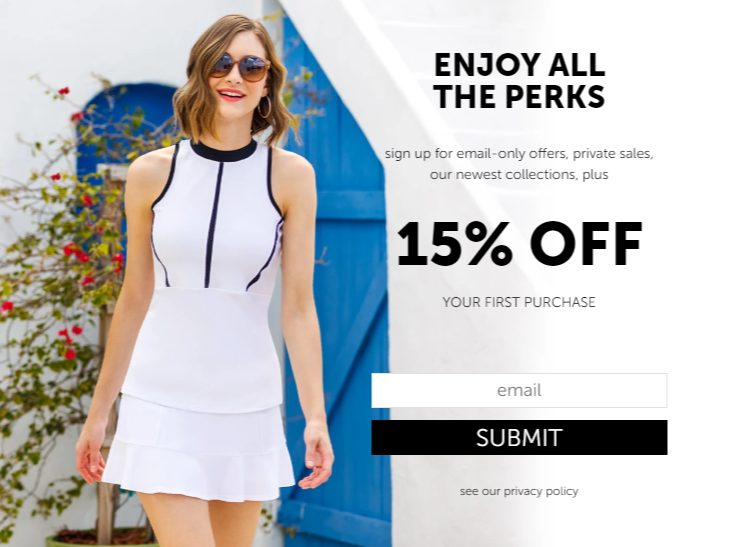 15% off tail activewear coupon