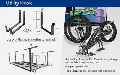 3 best FlexiMounts hooks for your home storage